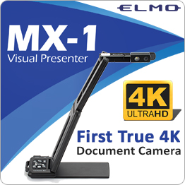 ELMO MX-1 First True 4K Document Camera