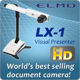 ELMO LX-1 Full HD World's Best Selling Document Camera