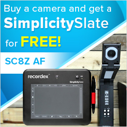 Buy a Recordex SC8Z AF SimplicityCam  and get a free tablet
