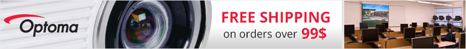 Free shipping on Optoma products over $99.00
