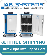 Free shipping on the Jar Systems Ultra-Light Intelligent Cart