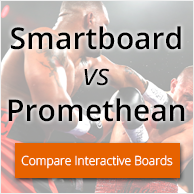 Compare Smartboard and Promethean Interactive Boards