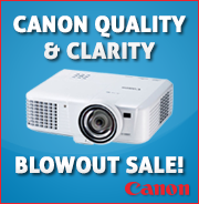 Canon Projector Blowout