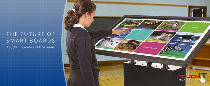 The Future of Smart Boards - TouchIT Interative LED Screens