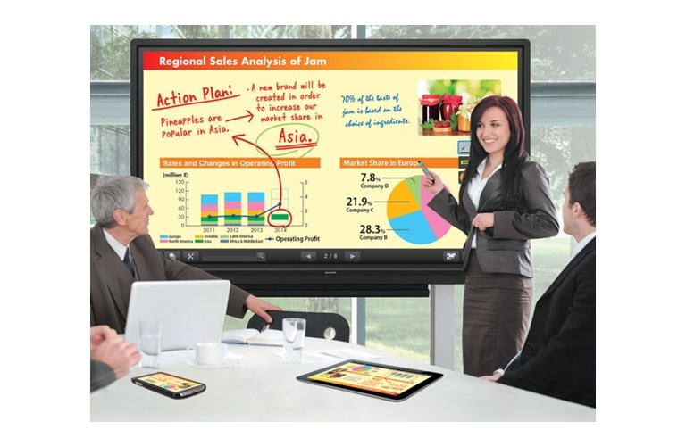 Sharp PN L703B AQUOS BOARDTM 70 Class Interactive Display System