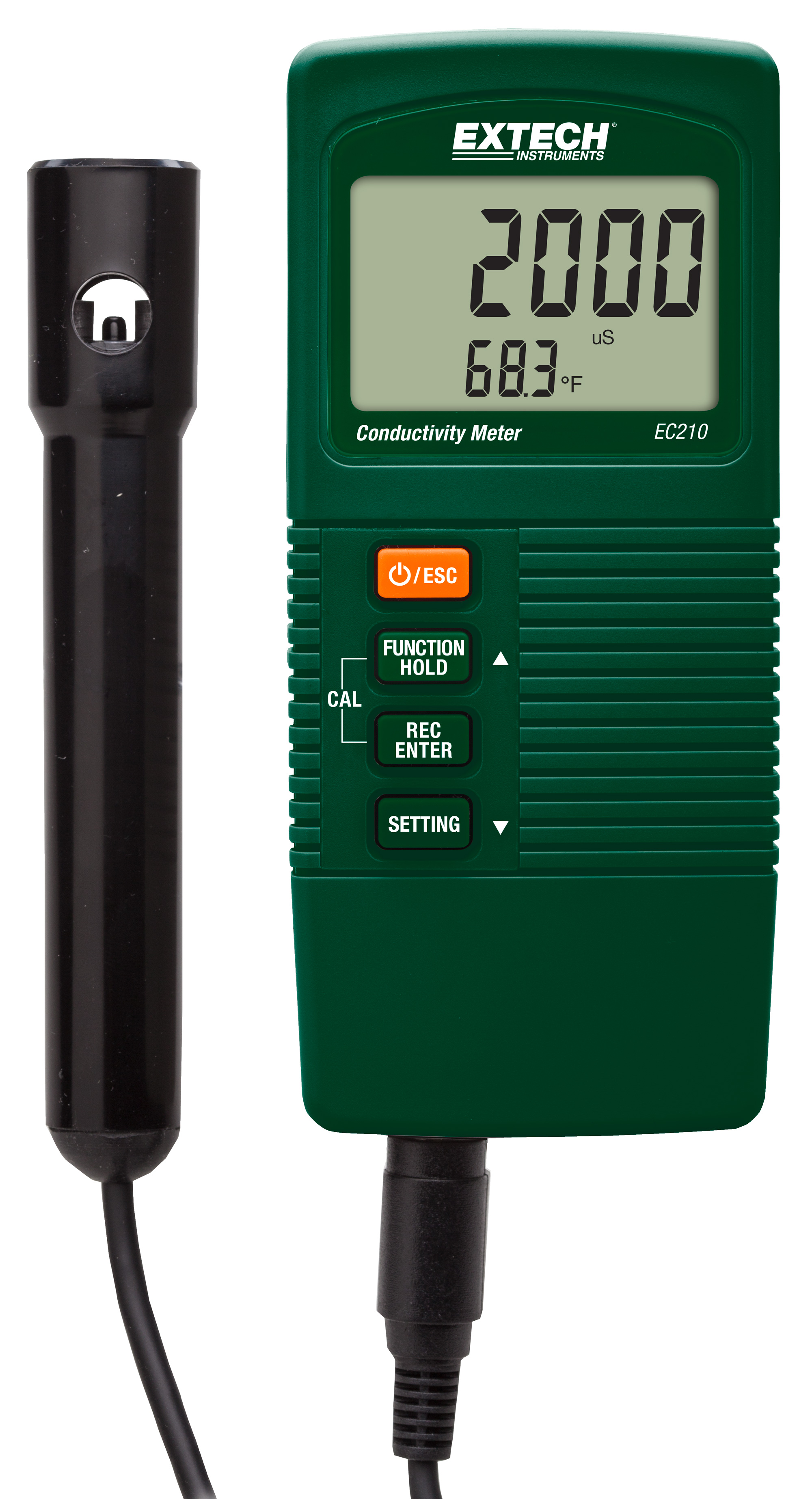 Parts Of Conductivity Meter : Extech ec compact conductivity tds meter ebay