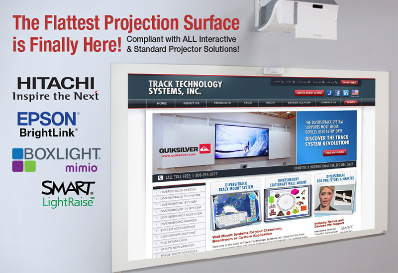 Track Technology Systems, Inc  Products | Touchboards
